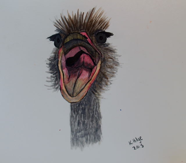 An Emotionally Stable Singing Ostrich